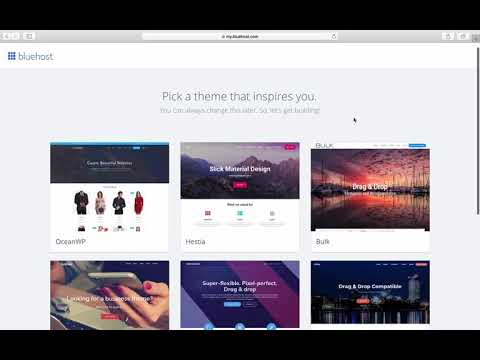 How To Build A Bluehost Website   Bluehost WordPress Tutorial For Beginners 2019