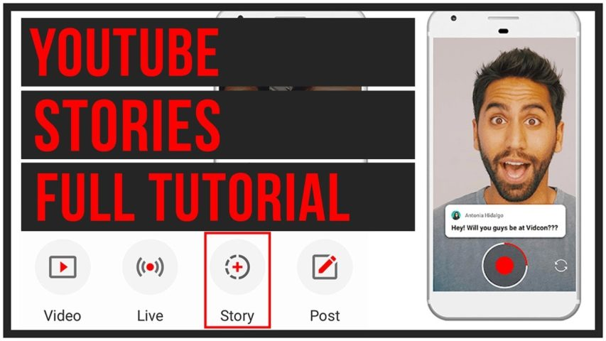 How To Create And Manage YouTube Stories - Full Tutorial