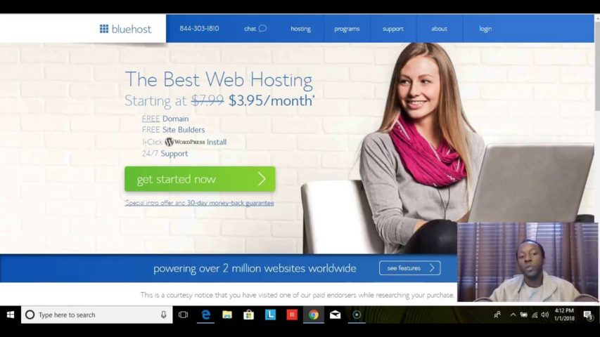 How to Set Up Web Hosting with Bluehost