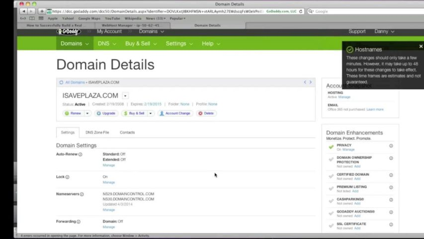How to Setup DNS in WHM cPanel on Godaddy