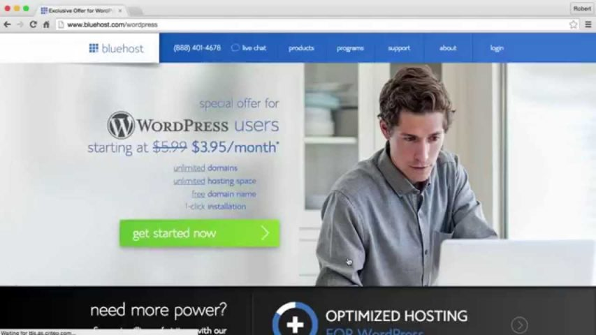 LECTURE #4 - Domain, Hosting & Installing WordPress with Bluehost