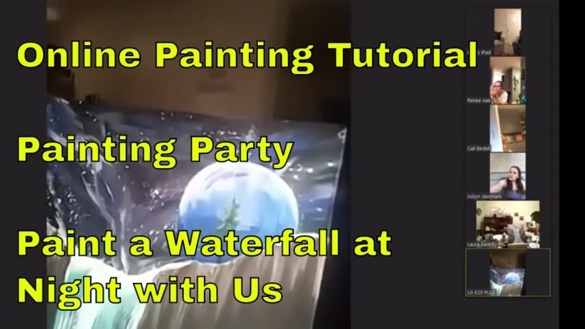 Live Painting Party with RandomGuyJeff - Join Us For Some Great Fun and Laughs