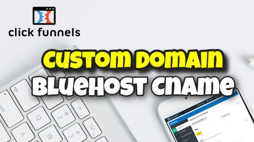 [Official Training] How to Bluehost CNAME Record with ClickFunnels