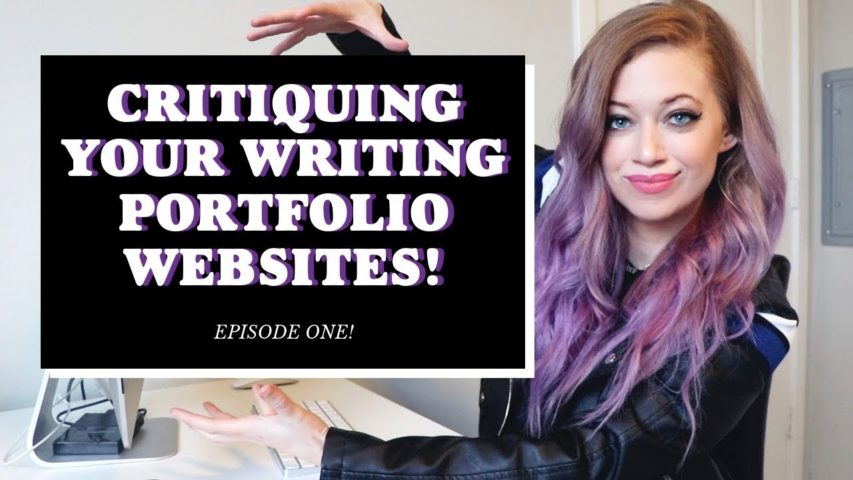 Reviewing YOUR Freelance Writing Portfolios/Websites! | Advice + CRITIQUE!