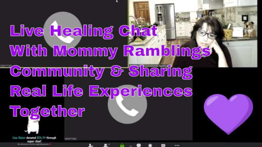 Sharing and Healing Together with Mommy Ramblings Live