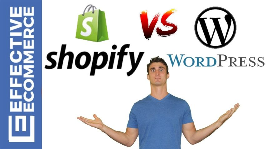Shopify vs Wordpress Pros and Cons Review Comparison