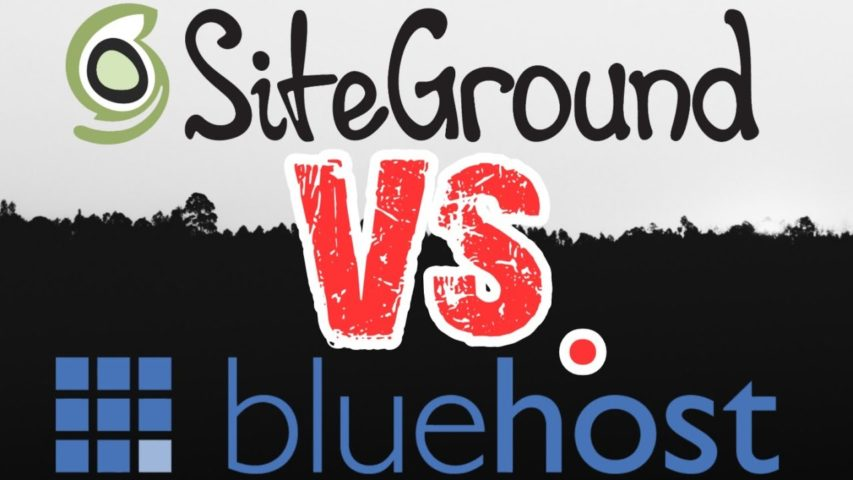 Siteground VS Bluehost | Best Host for Wordpress/ Woocommerce