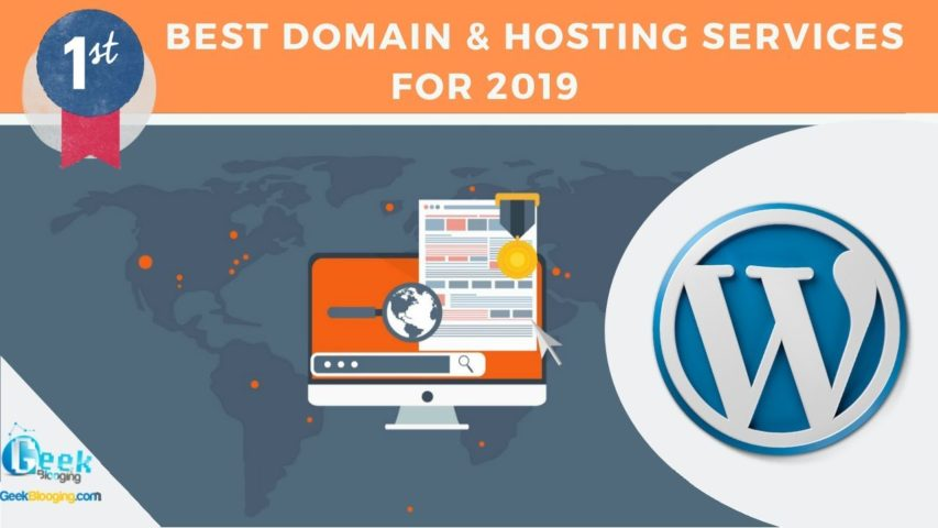 THE #1 Company of Domain names & Web Hosting for Wordpress [2019]