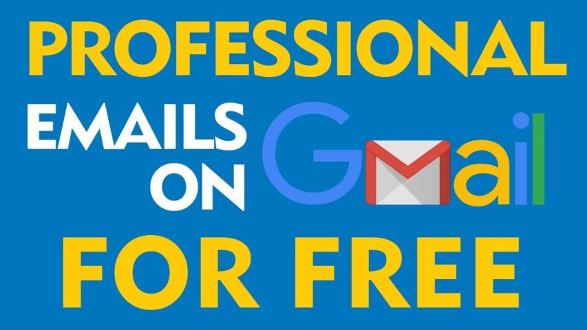 Use Gmail to Host your Professional Email Address Free (2019)