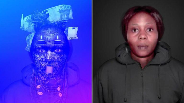Jessica Esohe Edosomwan was allegedly part of a gang that smuggled girls from Nigeria. Pic: Europol